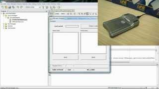 RFID NFC and MIFARE® programming - Java (Windows)