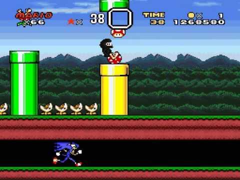 Super Mario World Mario Gives Up 3 Walkthrough - Mario Gives Up 3