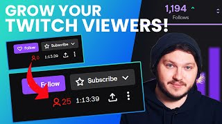 How To Grow On Twitch in 2020 - 0 To 25 Viewers In 60 Days!