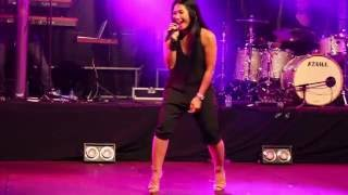 Anggun - Perfect World  live in Mouscron Belgium