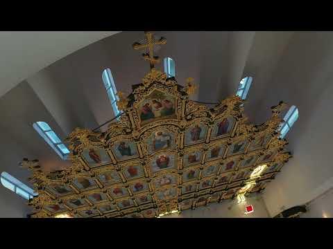 Уникальный иконостас нового Свято-Троицкого собора в Кургане