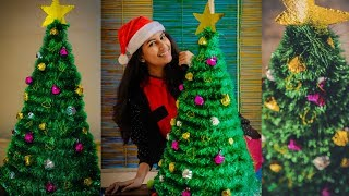 #Christmastree #diy | DIY Christmas Tree | Easy & Affordable Diy|