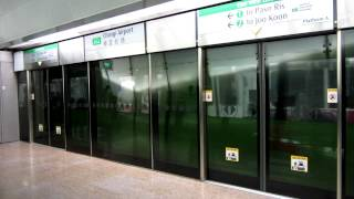 SMRT C151 [023/024] Departing Changi Airport (» Tanah Merah)