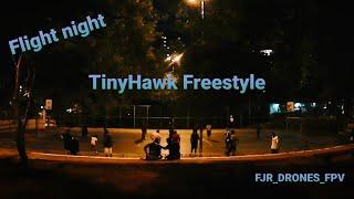 Vôo noturna com TinyHawk Freestyle #fjrdronesfpv #fpv #emax #tinyhawk #frsky #uruav