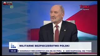 """Macierewicz: """"Rząd PiS jest najlepszym polskim rządem od 1918 roku."""""""