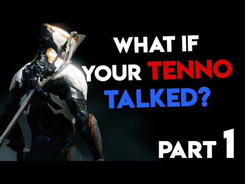 What If Your Tenno Talked From The Beginning? - Warframe (Parody) - TheHiveLeader