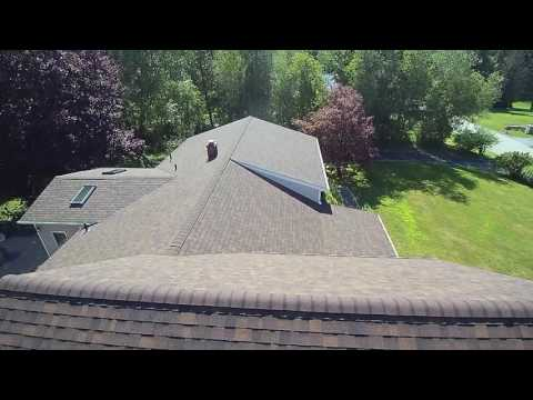 After video of completed roof replacement in Poughquag, NY