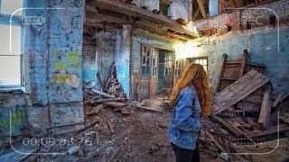 Спас девушку от наркомана. Дикий побег в заброшенной школе