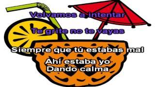 Marama - No te vayas - Karaoke / Instrumental