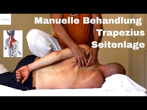 Übungen für den Rücken an der Brust Osteochondrose