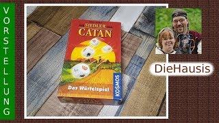Siedler von Catan das Würfelspiel / Spielvorstellung // DieHausis ihre #Brettspiele Spiel Nr. 6