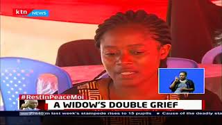 A widow's double grief: Woman buries her daughter after the Kakamega primary stampede