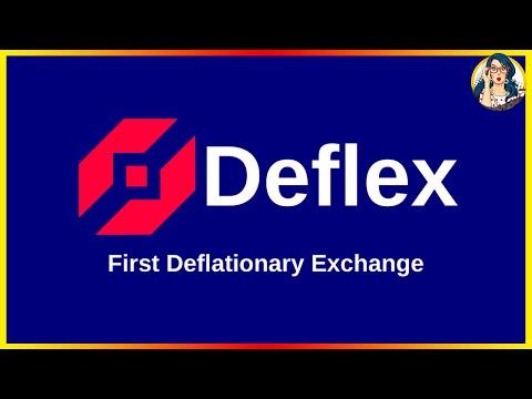 📈Deflexchange - Первый Дефляционный Обмен 🔥