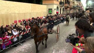 preview picture of video 'Carnevale Romano 2012 - Sfilata a Via del Corso - Part 2 of 4 - www.HTO.tv'