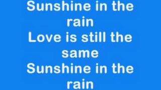 BWO - Sunshine in the rain karaoke