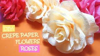 DIY: Crepe Paper Flowers - Roses