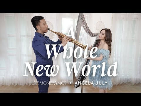 A Whole New World - OST Aladdin (Angela July ft. Desmond Amos)