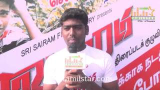 Pandi at Vajram Team Organized Marathon for School Students