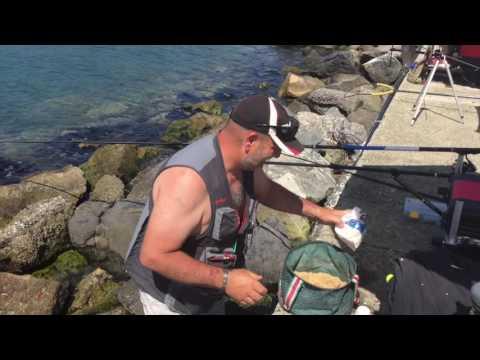 Riposo nellarea caucasica con pesca