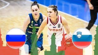 Russia v Slovenia - Full Game - Class. 13-14 - FIBA U20 Women