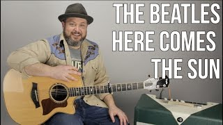 "How to Play ""Here Comes The Sun"" by The Beatles on Guitar"