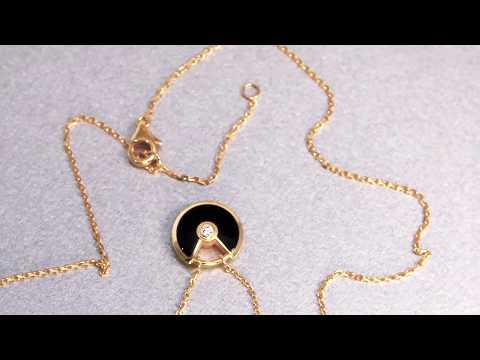CARTIER Amulet de Cartier necklace XS