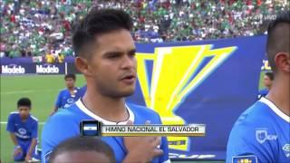 Himno de El Salvador vs Mexico - Copa Oro 2017