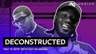 """The Making Of Kid Cudi's """"Day 'N' Nite"""" With Dot Da Genius 