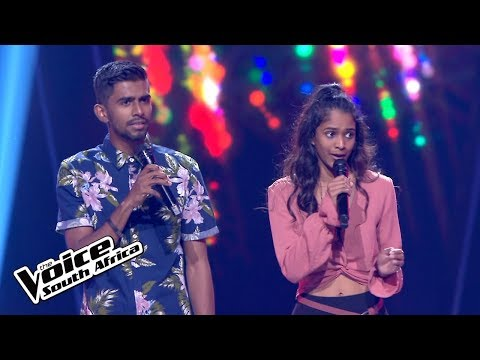 Jesse & Nicole Govender –  'The Climb' | Blind Audition | The Voice SA: Season 3 | M-Net