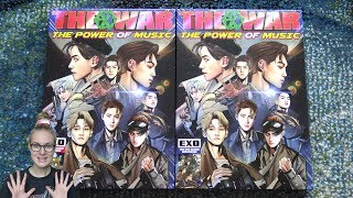Download Video Unboxing EXO 엑소 4th Studio Album Repackage The War: The Power Of Music (Korean & Chinese Edition) MP3 3GP MP4