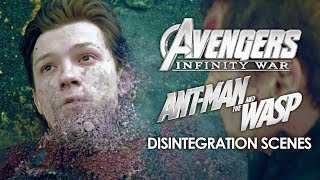 Disintegration Scenes   Avengers: Infinity War (2018) and Ant-Man and the Wasp (2018)