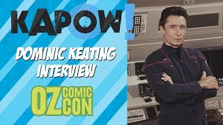 Dominic Keating Interview Oz Comic Con