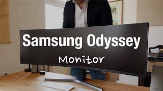 "Samsung Odyssey CRG9 Bester Gaming Monitor? (49"" Curved, AMD FreeSync)"