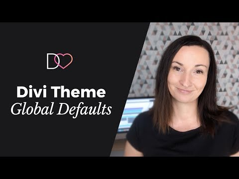 Divi Theme Global Defaults - Practical Guide