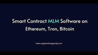 Tron MLM Smart Contract Software Development - Coinjoker