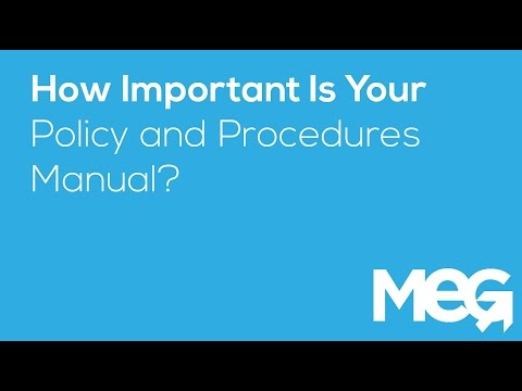 , title : 'The Importance of Your Policy and Procedures Manual   MEG Business Management