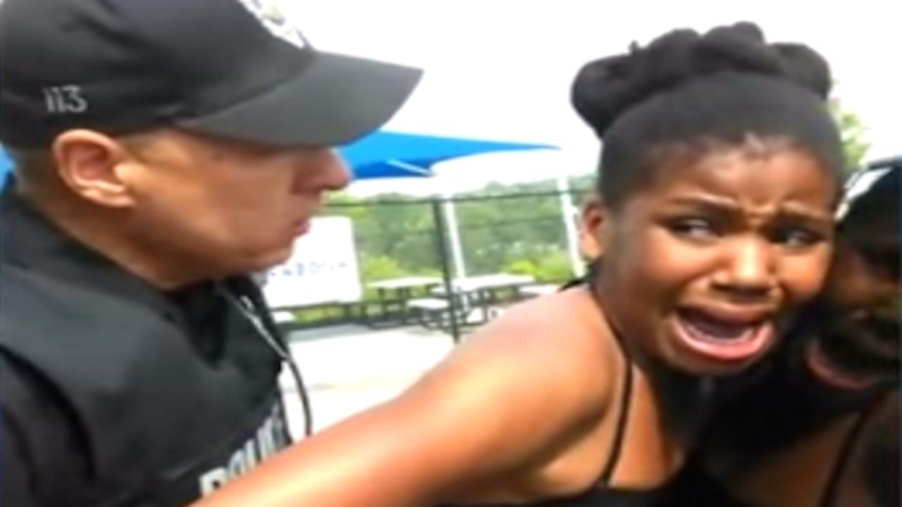 Cops Slam 12 Year Old Black Girl Onto Squad Car (VIDEO) thumbnail
