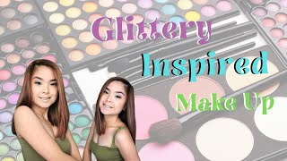 Glitter Inspired Makeup | Trixie Make Up Diaries