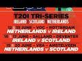 Final t20Netherland vs ScotlandJune 20 2018