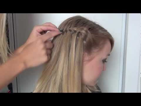 tutoriel coiffure tresse cascade petits trucs pour les. Black Bedroom Furniture Sets. Home Design Ideas