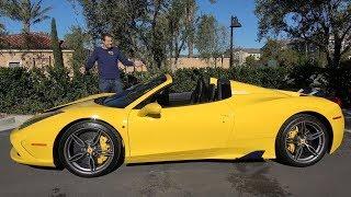 Вот почему Ferrari 458 Speciale A - это крутейшая современная Ferrari