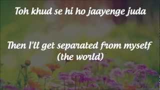 """""""Tum Hi Ho"""" Lyrics & English Translation- """"Aashiqui 2"""" (2013"""