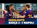 FC Barcelona – SCC Napoli (2-1) HIGHLIGHTS