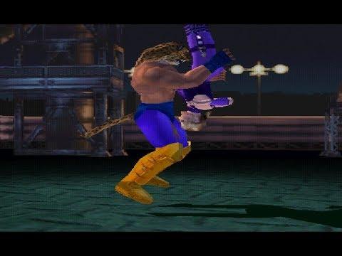 Tekken 3 Yoshimitsu Moves