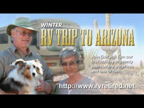 Winter RV  trip to Arizona, Snowbird travel stories, Travel adventures in our RV,
