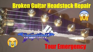 DragonForce - Herman Li Broken Ibanez EGEN Guitar Repair