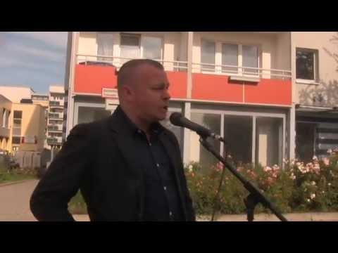Auftakt NPD-Thüringentour 2014 – Wir helfen Thüringen