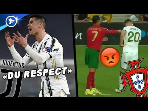 Cristiano Ronaldo au cœur de deux grosses polémiques   Revue de presse