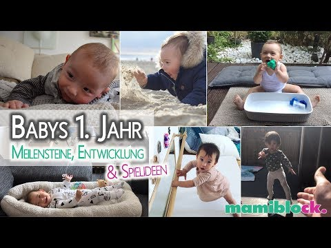 Babys erstes Jahr 🥰| Meilensteine, Entwicklung & Spielideen | mamiblock