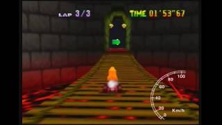 "MK64 - World Record on Bowser's Castle - 43""20** (NTSC: 35""93) by Daniel Burbank"
